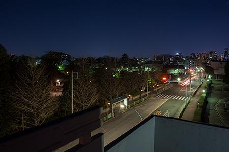 普門館の夜景