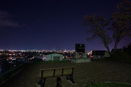 船見公園の夜景