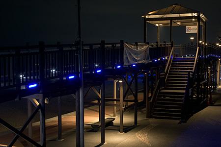 ふたみシーサイド公園の夜景