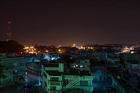 ふてんま公園の夜景