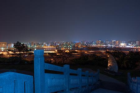 がじゃんびら公園の夜景