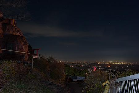 ガマランドの夜景