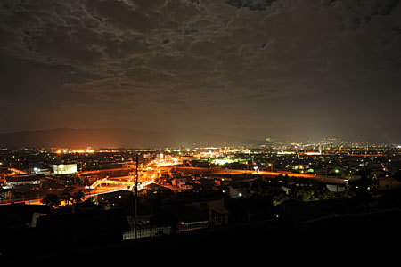 玄藩山公園の夜景