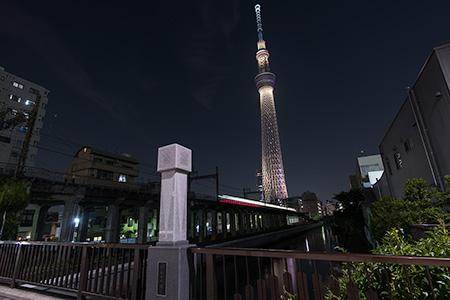 源森橋の夜景