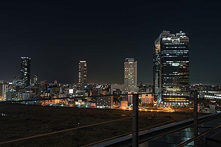 グランフロント大阪 南館テラスガーデンの夜景