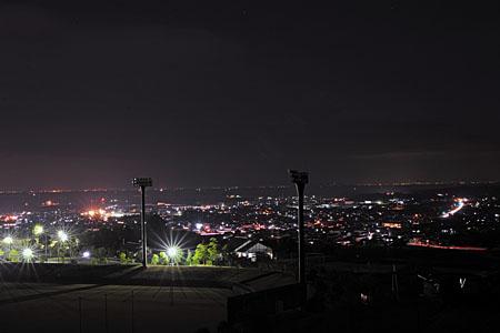 蟻尾山公園の夜景