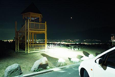 銀河鉄道展望公園の夜景