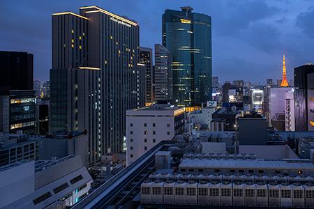 銀座シックス(GINZA SIX)の夜景