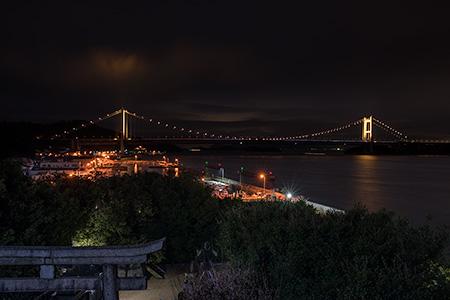 祇園神社の夜景