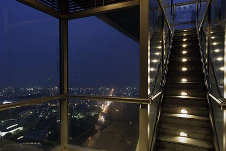 グローバルタワーの夜景