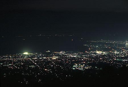 五井山の夜景