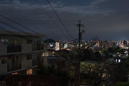 御幸山の夜景