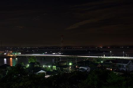 権現山公園の夜景