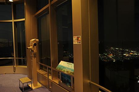 五老スカイタワーの夜景