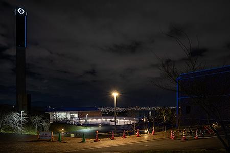 御陵公園の夜景