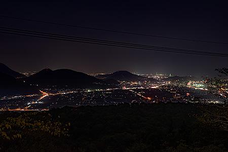 かんぽの宿坂出近くの夜景