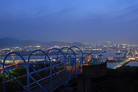 夜景100選「五台山公園」