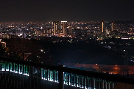 御殿山第3公園の夜景
