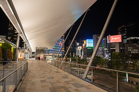 東京駅 グランルーフの夜景
