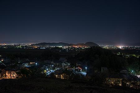 グリーンハイツ5号公園の夜景