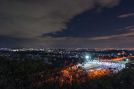 南河内グリーンロードの夜景
