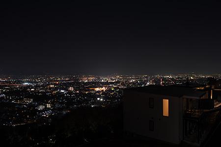 グリーンヒル愛宕 北公園の夜景