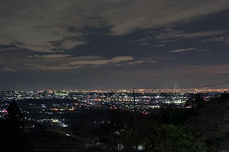 南河内グリーンロード展望台の夜景