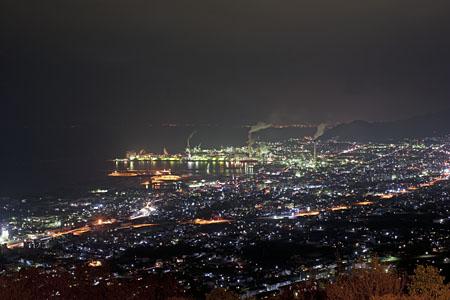 具定展望台の夜景