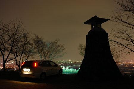 行基寺の夜景