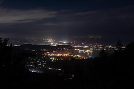 鉢伏山の夜景