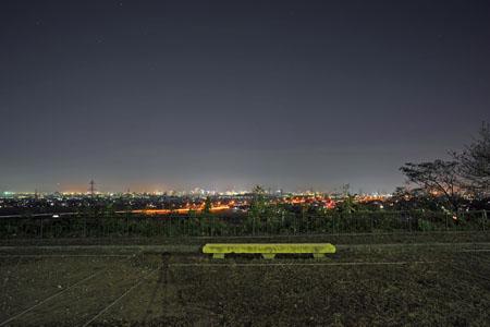 鉢伏公園の夜景