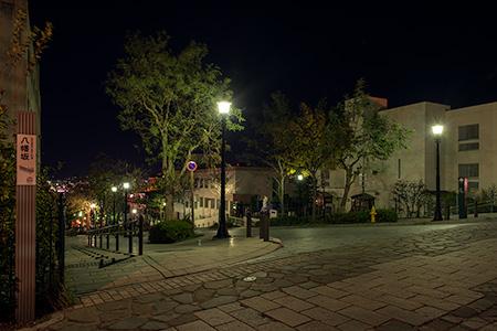 八幡坂の夜景