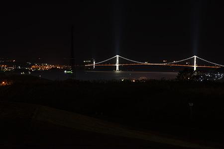 八丁平南公園の夜景