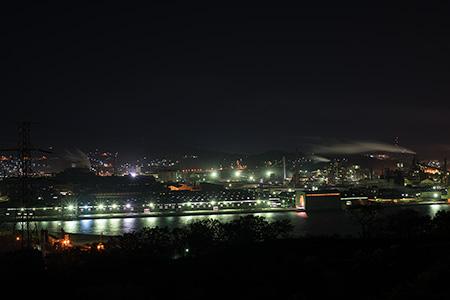 八丁平の夜景