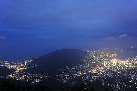 夜景100選「灰ヶ峰」