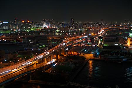 博多ポートタワーの夜景