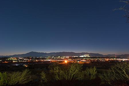 八景の棚の夜景