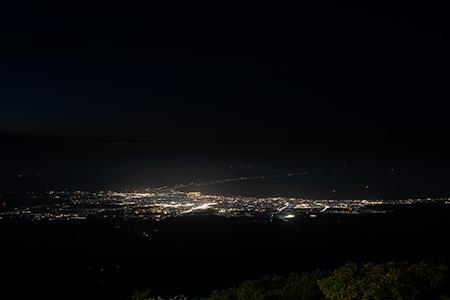 八甲田山の夜景