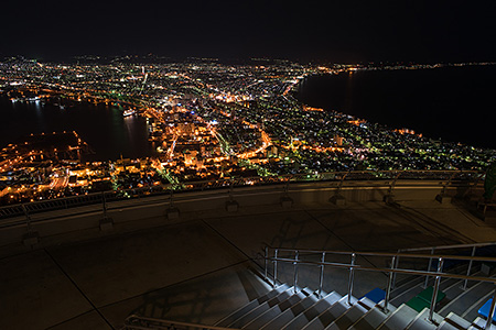 夜景100選「函館山」