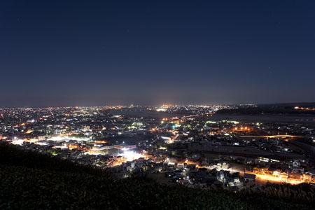 白岩寺公園の夜景