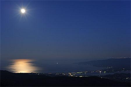 大佐渡スカイライン 白雲台の夜景