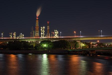 浜寺公園の夜景