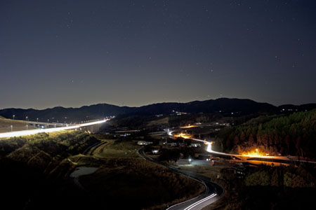 NEOPASA浜松(上り)の夜景