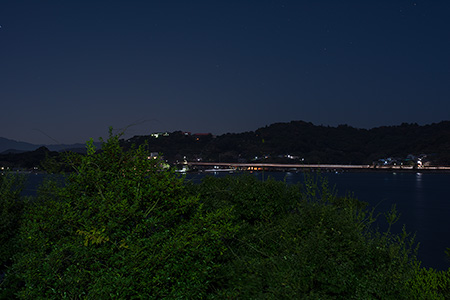 浜名湖SAの夜景