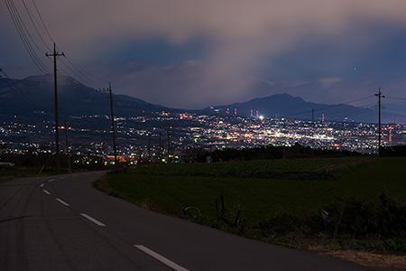 鼻高展望花の丘の夜景
