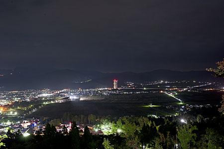 花咲山展望台の夜景
