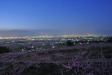 花鳥山遺跡の夜景