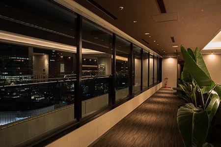 阪急グランドビルの夜景