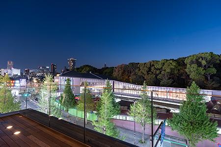 ウィズ原宿(WITH HARAJUKU)の夜景