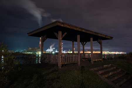 晴海公園の夜景